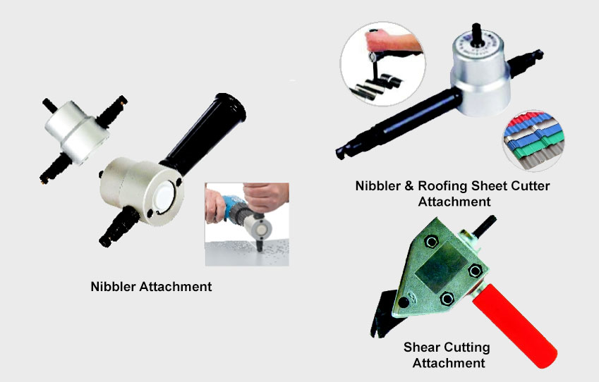 Drill Attachments by V-Max Plate Fabrication Machines in
